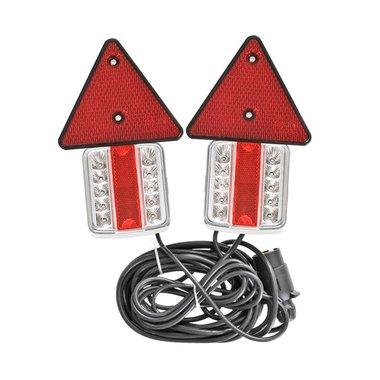 Kit d'eclairage LED magnethique avec reflecteurs 7,5+2,5M c ble