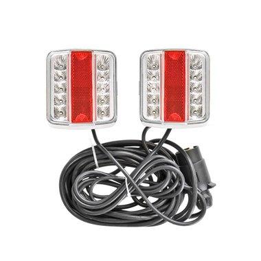 Kit d'eclairage LED magnethique 7,5+2,5M c ble