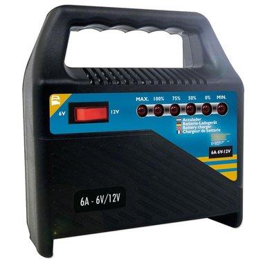 Chargeur de batterie 6V/12V 6Amp.