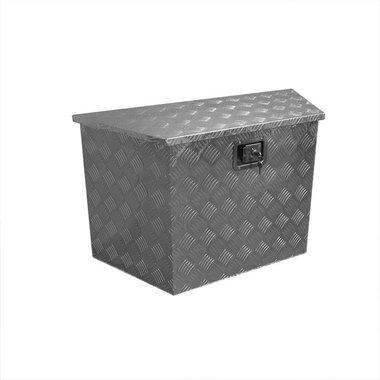 Boite outils aluminium pour remorque 830/540 x 360 x H490mm