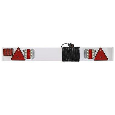 Rampe d'eclairage de remorque LED avec feu anti-brouillard + 6M c ble