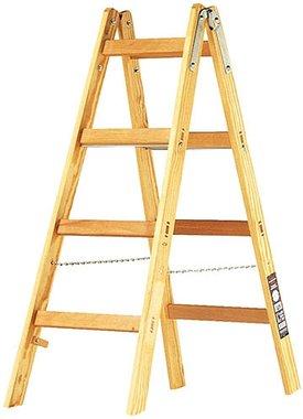 Echelle en bois 2x4 echelons Hauteur de l'echelle cadre 1,2m