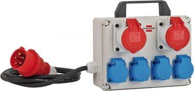 Mini distributeur de puissance BKV 2/4 T IP44