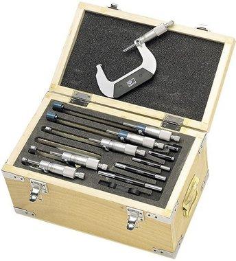Externe micrometer set 6 delig. 0-150mm MEDIUM