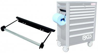 Support de rouleau de papier pour chariot d'atelier PRO BGS 4111