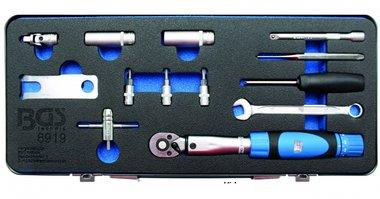 Jeu d'outils pour montage et démontage de valve TPMS 13 pièces