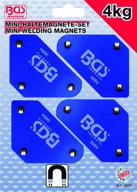 Ensemble mini-magnetique 4 pieces, 45° -90° -135°