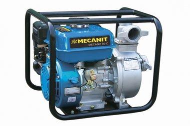 Pompe avec un moteur a essence pour les eaux usees 100 mm