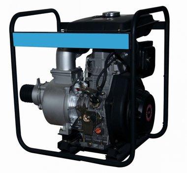 Pompe a moteur diesel pour les eaux usees