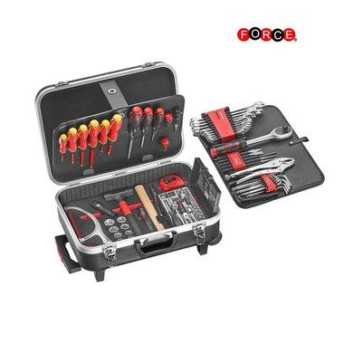 Valise roulettes avec 107 pcs d'outils