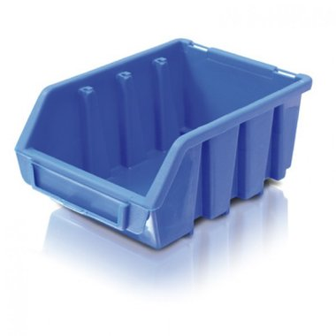 Bac de rangement bleu taille 5
