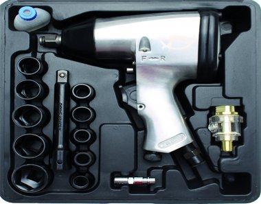 Kit Hobby de 16 pieces 1/2 Air Impact, 320 Nm