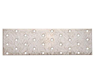 Plaque en acier avec trous, 200 x 60 mm