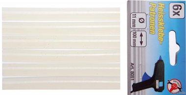 Bâtons de colle, 6 pièces, 11x100 mm