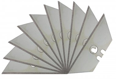 Lames de rechange de 10 pieces pour couteau de securite BGS 50603