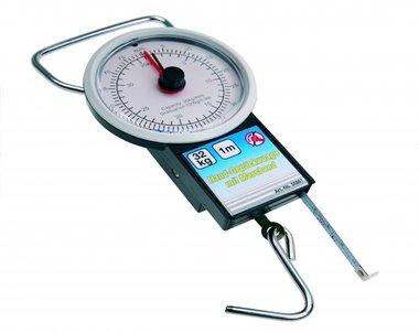 Échelle de bagage avec ruban à mesurer, jusqu'à 32 kg