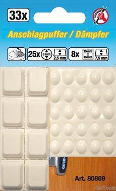 Ensemble de bouchon elastique 33 pieces