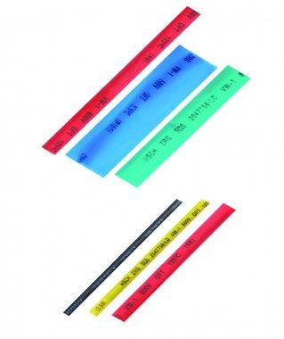 Ensemble de tubes rétractables de 90 pièces, coloré