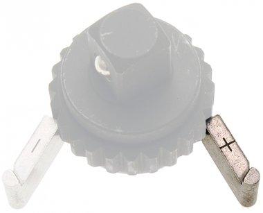 Plaque de verrouillage de rechange + pour cle dynamometrique BGS 965