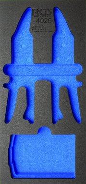 1/3 chariot plateau Forets coniques Staggered et des ciseaux Cortachapa 5 pcs