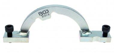 Reglage de la regle pour le disque de reprise Opel, de BGS 8151