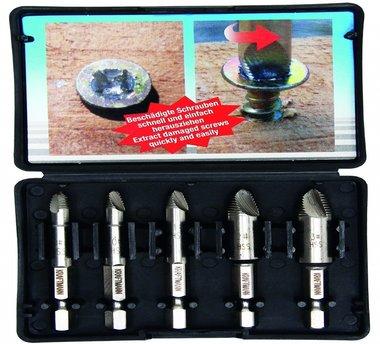 5 pieces Vis Extractor Set