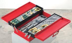 Caisse outils avec 48 pcs d'outils