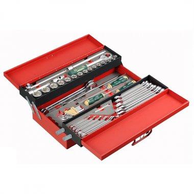 Caisse à outils avec 80 pcs d'outils