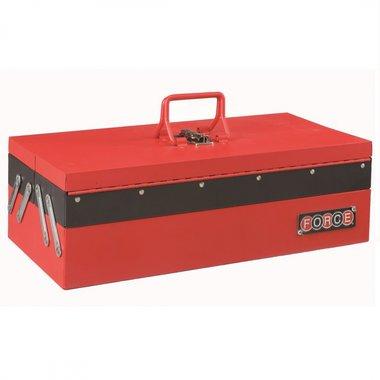 Caisse outils en metal 3 compartiments