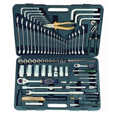 Coffret d'outils universel 107 pcs