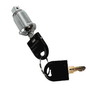 Serrure avec 2 clés