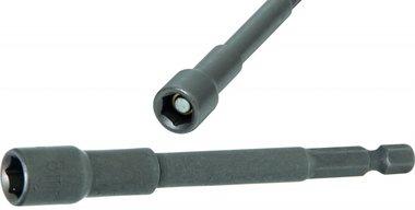Socket, extra long, avec 6 pt. Percer Shaft, 8 mm