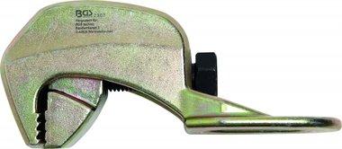 Griffe pour l'alignement Carrosserie angle 90°, 40 mm, une direction de traction, jusqu'2.