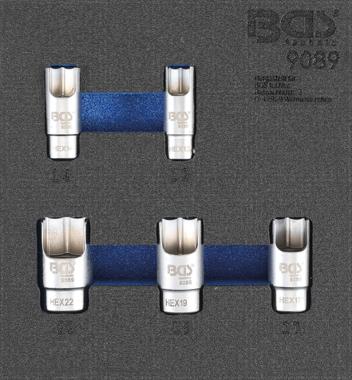 Inserts spéciaux pour connecteur angle-pipe, 5 pcs.