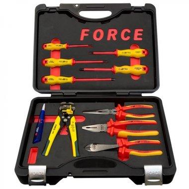 Coffret d'outils isoles 1000V 10 pcs