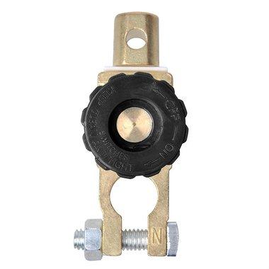 Cosse de connexion de batterie (-) avec coupe circuit