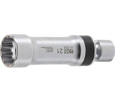 Spark Joint Universal Plug Socket, 21 mm, 12 pt, avec ressort de retenue