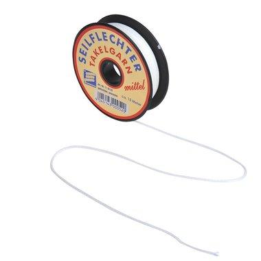 Le tranche fil pour reparer, medium, cire, 15m, blanc