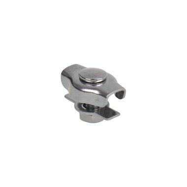 Simplex serre-c ble  etrier 3mm, A4 RVS AISI 316