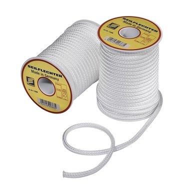 Fibron corde, 5mm, 20m sur canette, tresse, blanc, 410 daN