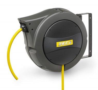 Enrouleur pneumatique 18m - 12mm avec tuyau pvc