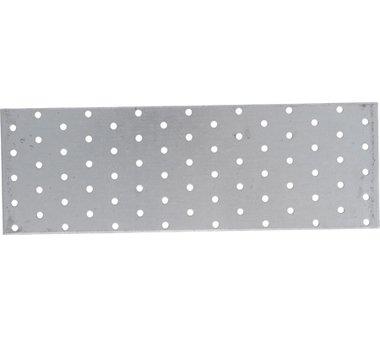 Plaque en acier avec trous 300 x 100 mm
