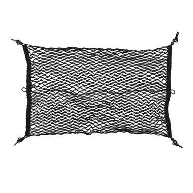 Filet de bagage elastique 80x60cm avec crochets plastique NS-3