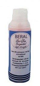 Beral Uni-Glue agent de blocage rouge haute resistance 15ml