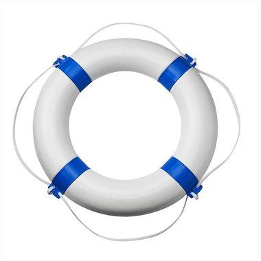 Bouee de sauvetage 600mm, blanc - bleu