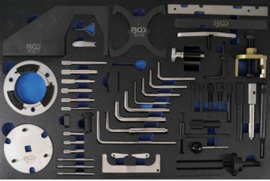 Plateau d'outils 3/3: Ensemble d'outils de calage du moteur pour Ford, VW, Seat, Mazda, Volvo