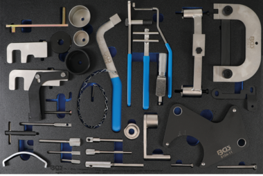 Tool Tray 3/3: Set d'outils de synchronisation moteur pour Renault, Nissan, Opel, Volvo