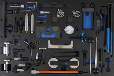 Porte-outils 3/3: Jeu d'outils de calage du moteur pour Ford, VAG, Mazda, Volvo
