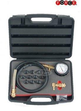 12pc ensemble de testeur de pression d'huile