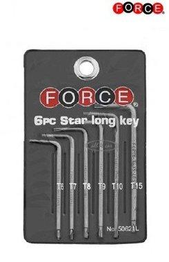 Étoile longue clé 6 pièces